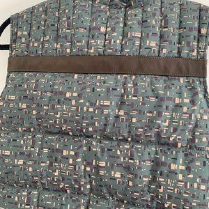 Barbour Jackets & Coats - Barbour Edenkawa Colorblock Quilted Vest Olive L